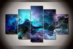 Style your home with this amazing multi panel abstract clouds modern wall canvas today and we will ship this painting for free. This is the perfect centerpiece for your home. We offer professional packaging to ensure your beautiful painting arrive safely. This painting is spray painted not hand painted. Framed means the painting has been stretched on a wood frame. It is ready to hang! Limited quantity left, Own your multi panel abstract clouds modern wall canvas today.