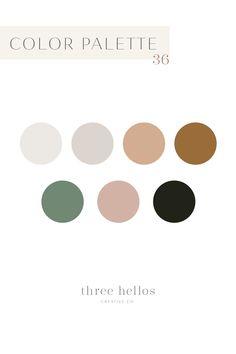 Boho Feminine Color Inspiration for Branding, Wedding, Interior Decor. Desert and Earthy Color Palette, Three Hellos Creative Co. Blush Color Palette, Gold Color Palettes, Earthy Color Palette, Color Palate, Neutral Palette, Vintage Color Palettes, Sunset Color Palette, Website Color Palette, Website Color Schemes