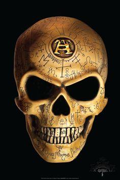 Omega Skull ~ Alchemy Gothic