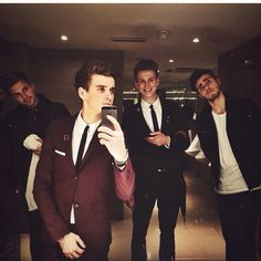 all ma favourite boys <3  marcus, Jjoe, caspar and alfie