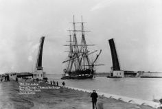U S S Constitution- Port Arthur - 1932 Craig Harrelson- Beautiful pic and ship!!! $303,000 to build in 1797. Jack Daniel -She's a masterpiece and an antique even in 1932, having been built in 1797