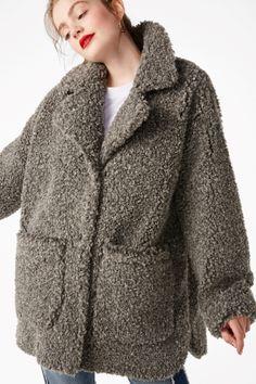 Monki - Shortlisted for best coats - Best Of Pinterest UK Style Awards.