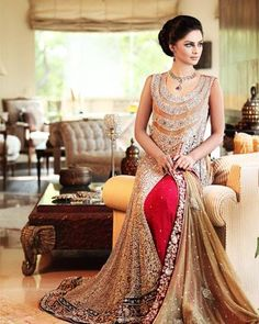 Pak Couture -Indo western Gown