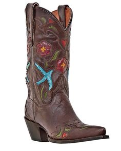 I've always wanted a pair of funky cowboy boots; maybe today is the day! OK, so they will be my fourth pair, but who's counting?!
