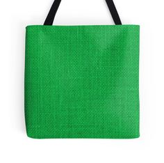 Natural Woven Neon Green Burlap Sack Cloth