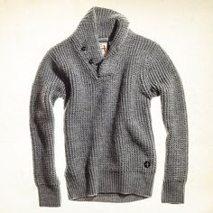 Fancy - Mercerized Shawl Collar Pullover by Relwen