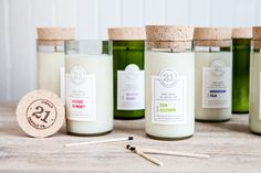 Circle 21 Candles - The Dieline -
