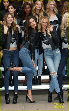 Behati Prinsloo & Karlie Kloss Live It Up at Victoria's Secret Fashion Show 2014 London Photo Call! | behati prinsloo karlie kloss live it up at victorias secret fashion show 2014 28 - Photo