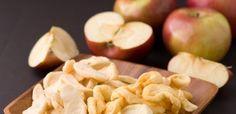 chipsy jabłkowe, talarki jabłkowe, przepis na chipsy