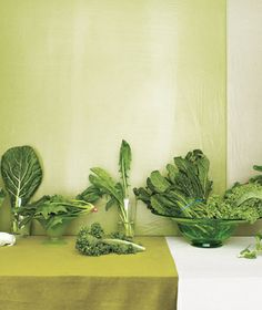 Your complete guide to leafy greens from bok choy to kale and mustard greens to Swiss chard.
