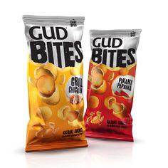 Gud Bites snack #packaging PD
