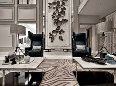 the oriental soft and delicate style is strongly allied to neoclassicism w design hong kong - PIPicStats Classic Interior, Luxury Interior, Modern Interior, Interior And Exterior, Hotel Interiors, Hospitality Design, Luxury Living, Interiores Design, Interior Inspiration