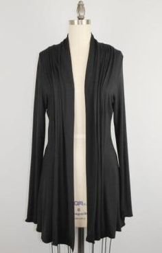 Cardigan - I have this cardigan in multiple colors. It's hard to find now, but I definitely recommend having something because Javits is cold!