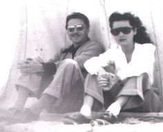 Empress Fawzia and Ismail Sherine her Second Husband