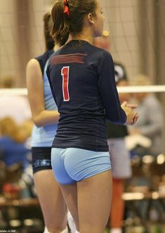 Teen volleyball spandex pussy