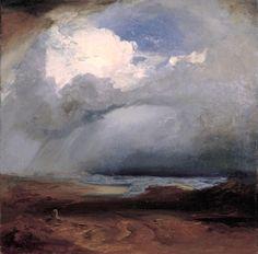 "Carl Rottmann""Battlefield at Marathon"", 1849"