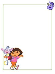 Journal Card - Dora the Explorer - Life Journal, Journal Cards, Universal Studios, Universal Orlando, Logo Clipart, Disney Printables, Autograph Books, Dora The Explorer, Scrapbook Journal