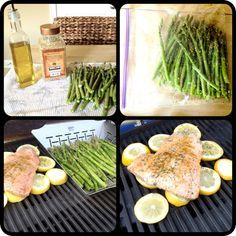 Queen of the Kings: Grilling Fish On Lemon Slices = Genius! Grilling Recipes, Cooking Recipes, Healthy Recipes, Delicious Recipes, Grilled Fish, Grilled Salmon, Lemon Slice, Man Food, Healthy Eating