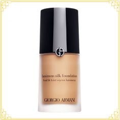 GIORGIO ARMANI Luminous Silk Foundation at Brown Thomas. Shop Giorgio Armani designer fashion and lifestyle in-store and online, with fast delivery and Click & Collect available. Giorgio Armani Beauty, Armani Makeup, Oil Free Foundation, Perfect Foundation, Makeup Foundation, Foundation Online, Foundation Shade, Foundation Application, Armani Designer Lift Foundation