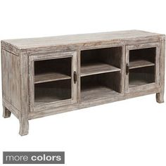 58-inch Ash Grey Reclaimed Wood TV Stand - Overstock™ Shopping - Great Deals on Entertainment Centers