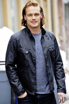 Sam Heughan out and about in New York | April 8, 2016