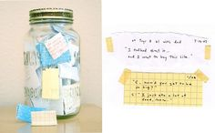 quote jar of all the interesting things little ones say so you never forget.  love this simple yet priceless idea.