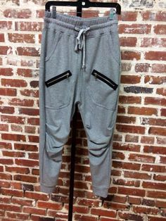 Zipper Sweatpants $49.50