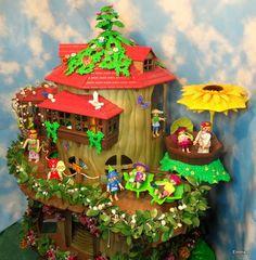 Light Up Fairy Tree House.