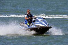 PWC of the Polizia di Stato patrolling the coast and the port
