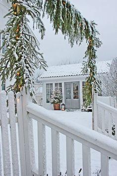 VIBEKE DESIGN: Vakkert vinterhvitt