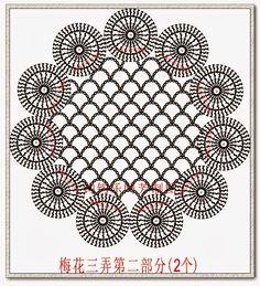Foulard | Hobby lavori femminili - ricamo - uncinetto - maglia