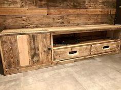 pallet tv cabinet 2