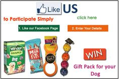 Win Gift Pack for your Dog
