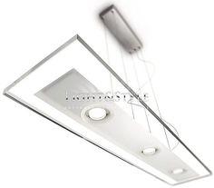 Philips Ledino 69049/48/16 Zwis aluminium 3 x 7,5W, Light&Style