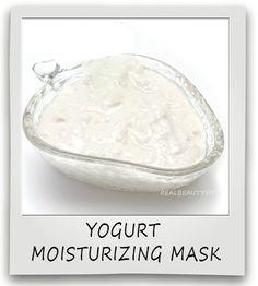 Yogurt Moisturizing mask