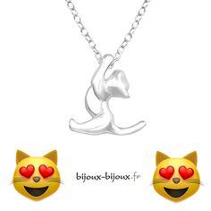 Plus que 9 colliers petit chat suspendu en Argent disponibles en envoi immédiat   Livraison Gratuite !  http://ift.tt/2Ehku4c