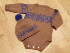 Voss body Needlework, Onesies, Barn, Knitting, Crochet, Sweaters, Kids, Fashion, Embroidery