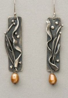 If you are looking for Handmade Jewelry, Necklaces, Earrings, Bracelets and Hand-Fabricated Jewelry by Artist Julie Seregny Mahoney, please visit the site to see available pieces. Pearl Drop Earrings, Circle Earrings, Pearl Jewelry, Famous Stars, Butter Shrimp, Garlic Butter, Handmade Jewelry, Pearls, Bracelets
