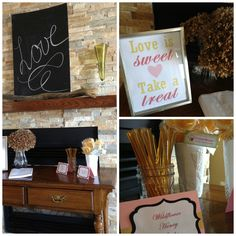 Baby Shmizz: {Guest Post}: Pink & Gold Bridal Shower