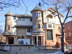 Capital Hill Historic District, Denver, CO.  The neighborhood's Halloween tours are legend...