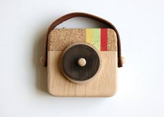 Anagram - Wooden Camera Inspired by Instagram. $35.00, via Etsy.