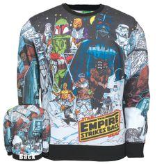 Star Wars - Great Empire Sublimation Crewneck Sweatshirt | OldGlory.com
