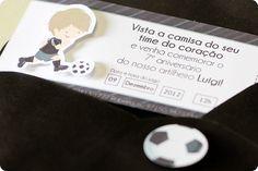 Festa Pronta - Futebol - Tuty - Arte & Mimos www.tuty.com.br