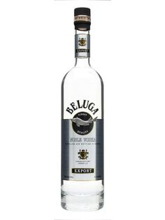 Beluga Vodka : Buy Online - The Whisky Exchange - A classic Russian vodka, clean and crisp with a little bit of grain flavour. Perfect for drinking straight, as is the Russian way.