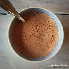 LCHF- varm kakao - Low carb - high fat Lchf, Keto, Hot Chocolate, Nespresso, Coconut Oil, Smoothie, Latte, Paleo, Food And Drink