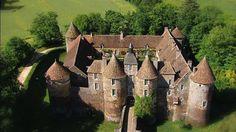 Château de Ratilly dans l'Yonne en Bourgogne (sur family-ecolodge
