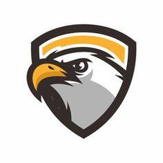 Logo Esport, Badge Logo, Team Logo, Hawk Logo, Casino Logo, Eagle Art, Baseball Mascots, School Logo, Sports Logos