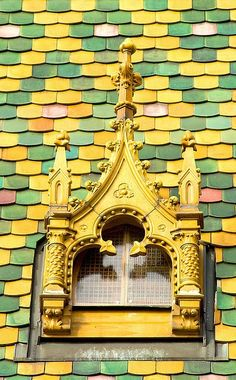 Budapest, Hungary. >Lovely roof too!