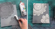Lace patterns! 15superb art ideas todecorate your room