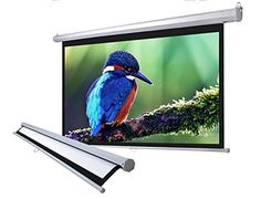 "#techie #TagsForLikes This 100"" Diagonal 87"" x 49"" #Manual Projection Screen features a convenient self-locked system with superior reflectivity and a matte whit..."